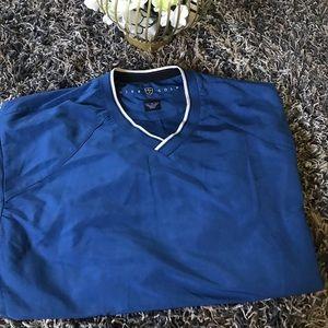 Nike blue long sleeve top